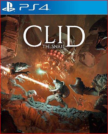 Clid The Snail Ps4 Mídia Digital