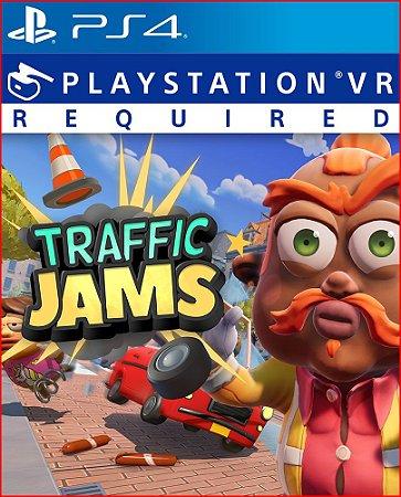 Traffic Jams Ps4 Mídia Digital