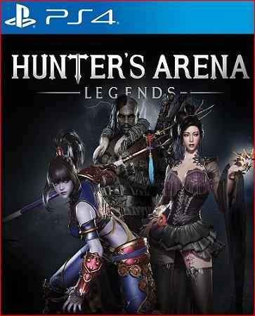 hunter's arena: legends ps4 mídia digital