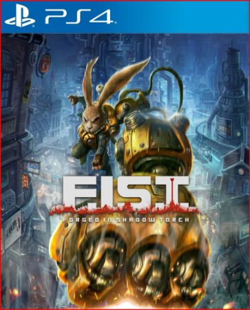 F.I.S.T. forged in shadow torch ps4 mídia digital