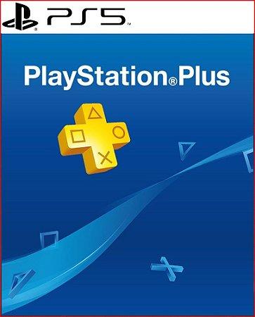 psn plus 12 meses Ps5  Mídia Digital ( Playstation Network Brasil )