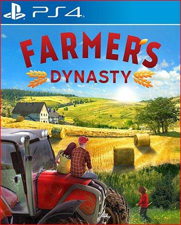 Farmers dynasty ps4 midia digital psn