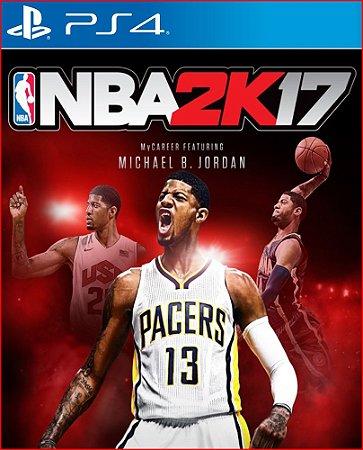 NBA 2K17 PS4 MÍDIA DIGITAL