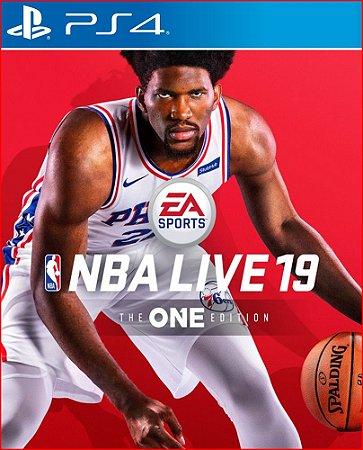 NBA LIVE 19 THE ONE EDITION PS4 MÍDIA DIGITAL