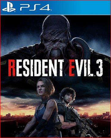 Resident evil 3 português PS4 MÍDIA DIGITAL