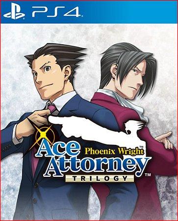 phoenix wright ace attorney trilogy ps4 mídia digital