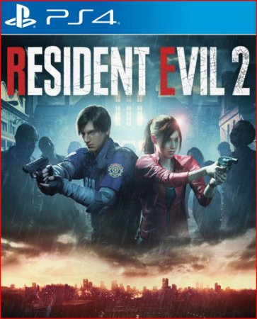 Resident Evil 2 ps4 português mídia digital