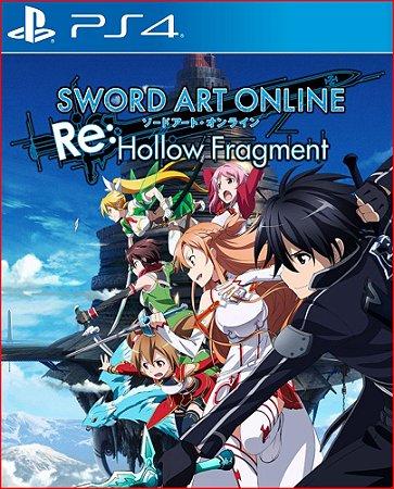 SWORD ART ONLINE RE HOLLOW FRAGMENT PS4 MÍDIA DIGITAL