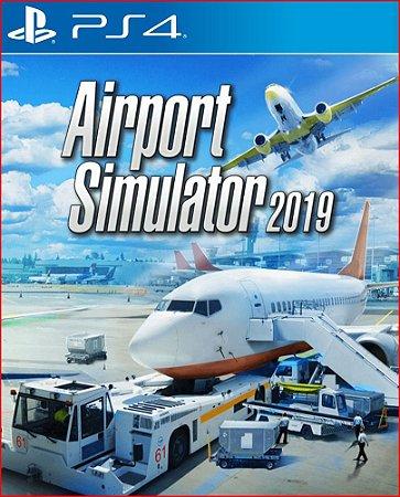 Airport Simulator 2019 PS4 MÍDIA DIGITAL Promoção