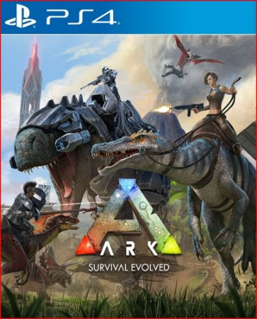 ark survival evolved ps4 mídia digital