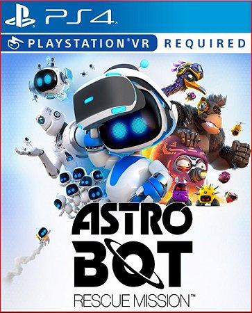 astro bot rescue mission ps4 mídia digital promoção