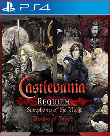 CASTLEVANIA REQUIEM: SYMPHONY OF THE NIGHT AND RONDO OF BLOOD PS4 MÍDIA DIGITAL