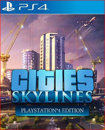 cities: skylines playstation 4 edition ps4 mídia digital