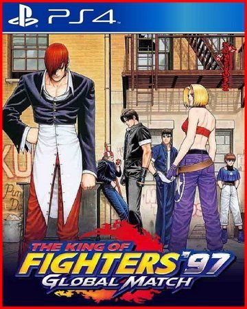 The king of fighters 97 GLOBAL MATCH PS4 MÍDIA DIGITAL