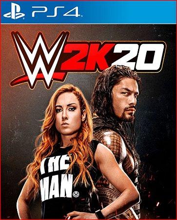 Wwe 2K20 PS4 PSN MÍDIA DIGITAL