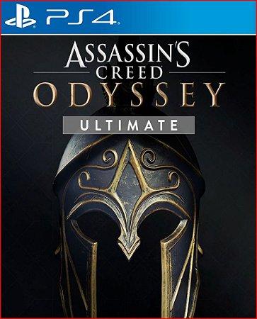 assassin's creed odysseu ultimate edition ps4 português mídia digital