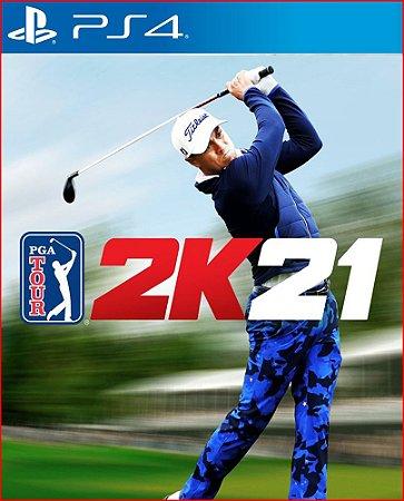 PGA TOUR 2K21 PS4 MÍDIA DIGITAL