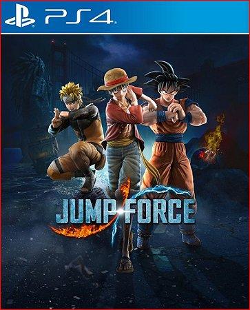 JUMP FORCE PS4 MÍDIA DIGITAL PORTUGUÊS