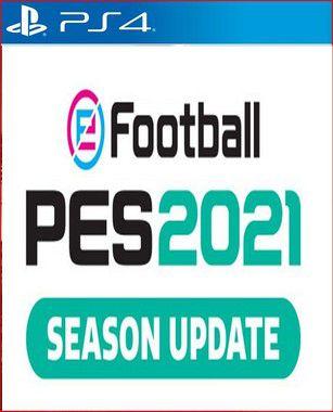 PES 2021 SEASON UPDATE STANDARD EDITION PS4 Mídia Digital