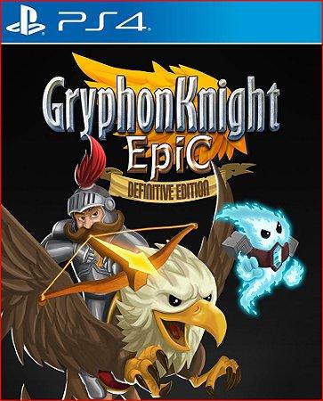 GRYPHON KNIGHT EPIC DEFINITIVE EDITION PS4 MÍDIA DIGITAL PORTUGUÊS