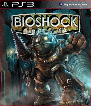 bioshock ps3 psn mídia digital