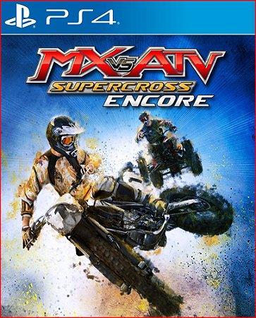 MX VS. ATV SUPERCROSS ENCORE PS4 MÍDIA DIGITAL