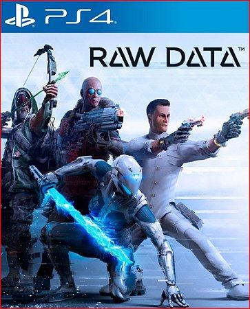RAW DATA PS4 MÍDIA DIGITAL PSN