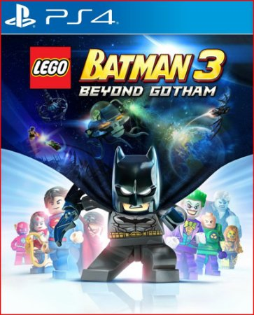 LEGO BATMAN 3 BEYOND GOTHAM PS4 MÍDIA DIGITAL - PROMOÇÃO
