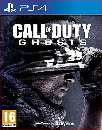CALL OF DUTY GHOSTS PS4 MÍDIA DIGITAL