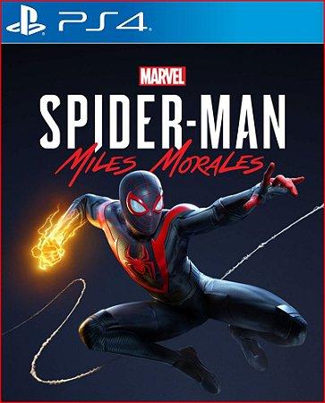 MARVEL SPIDER-MAN: MILES MORALES PS4   HOMEN ARANHA PS4 MÍDIA DIGITAL
