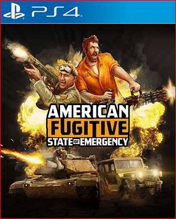 American Fugitive PS4 MÍDIA DIGITAL Promoção