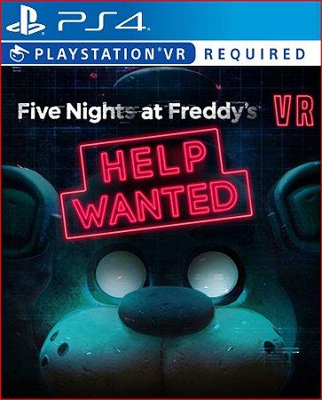 five nights at freddys help wanted ps4 midia digital psn