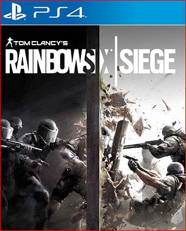 tom clancys rainbow six siege ps4 psn mídia digital