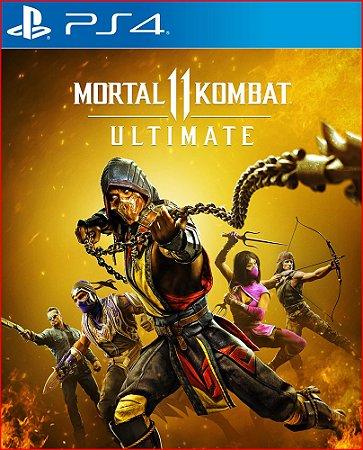Mortal Kombat 11 Ultimate ps4 - Mídia Digital