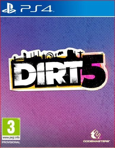 dirt 5 ps4 mídia digital promoção