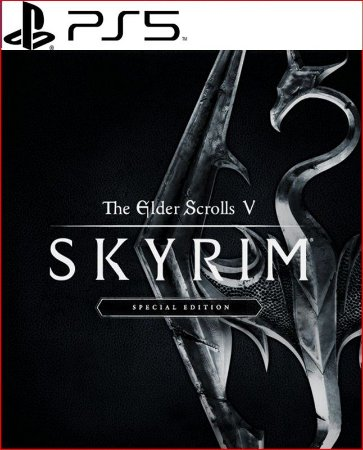 The elder scrolls v skyrim special edition PS5 PSN MIDIA DIGITAL