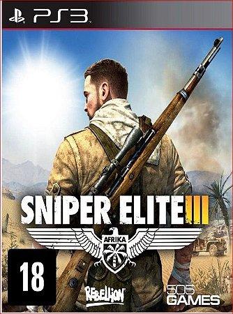 SNIPER ELITE 3 PS3 PSN MIDIA DIGITAL