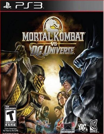 MORTAL KOMBAT VS DC UNIVERSE PS3 PSN MIDIA DIGITAL
