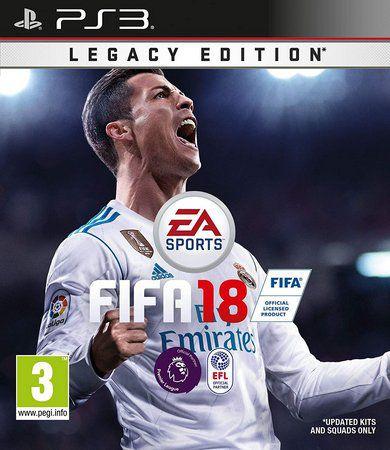 FIFA 18 2018 Ps3 Mídia Digital