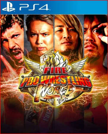 fire pro wrestling world ps4 mídia digital