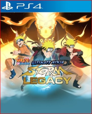 naruto shippuden: ultimate ninja storm legacy ps4 mídia digital