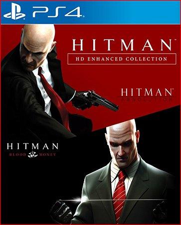 HITMAN HD ENHANCED COLLECTION PS4 MÍDIA DIGITAL