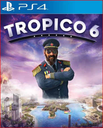 Tropico 6 PS4 MÍDIA DIGITAL