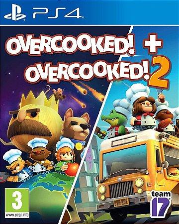 OVERCOOKED! + OVERCOOKED! 2 PS4 MÍDIA DIGITAL