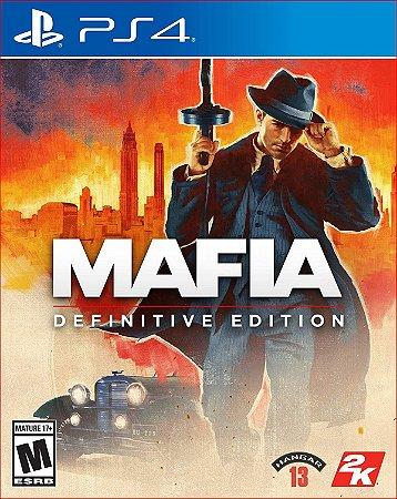 Mafia: Definitive Edition ps4 mídia digital