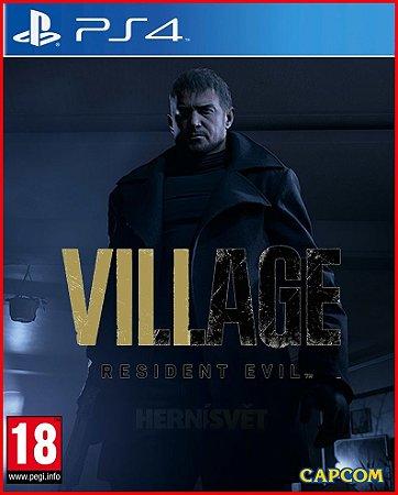 RESIDENT EVIL 8 VILLAGE PS4 MÍDIA DIGITAL