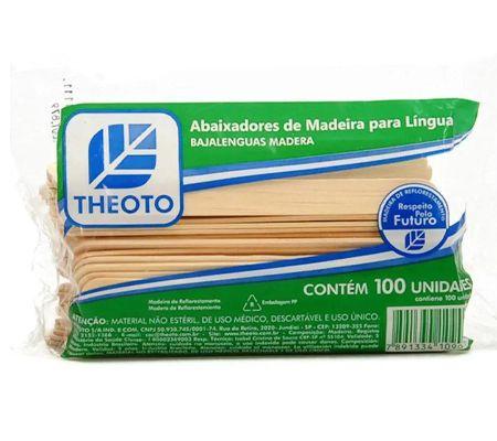 ABAIXADOR DE LÍNGUA PACOTE C/ 100 UNIDADES