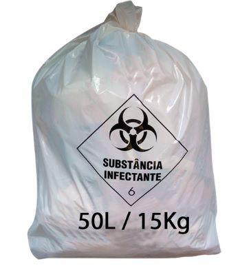 SACO PARA LIXO HOSPITALAR 50 L C/100 - RAVA