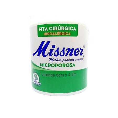 FITA CIRÚRGICA MICROPOROSA 05CM X 4,5MT - MISSNER