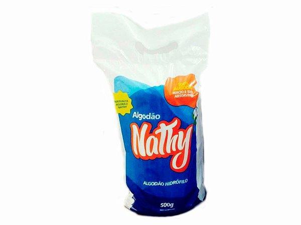 ALGODÃO HIDRÓFILO 500G  - NATHY
